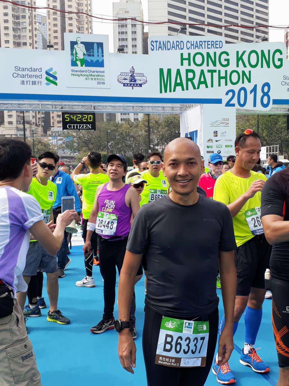 22nd Edition of Standard Chartered Hong Kong Marathon Kicks Off My 2018 Running Calendar
