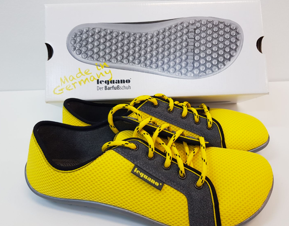 Leguano Aktiv Yellow and Black Shoes Double My Challenge!