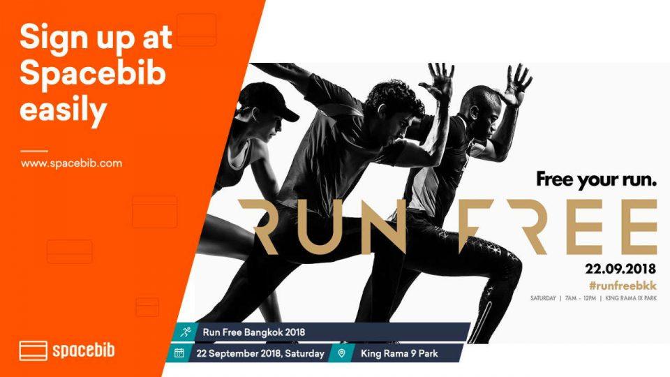 Run Free Bangkok 2018