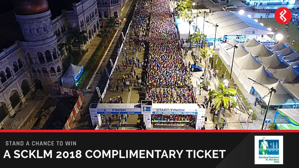 Win Standard Chartered KL Marathon 2018 Race Tickets