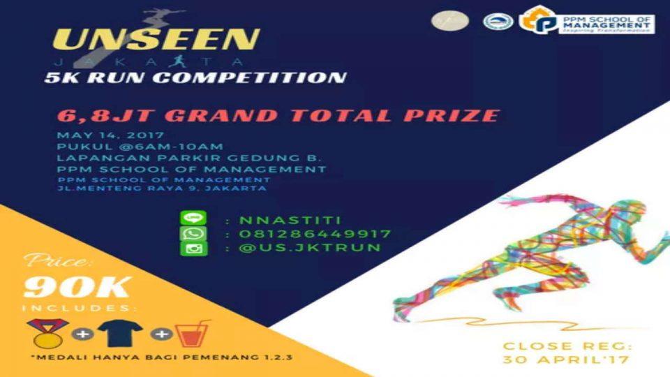 Unseen Jakarta 5K Competition Run 2017