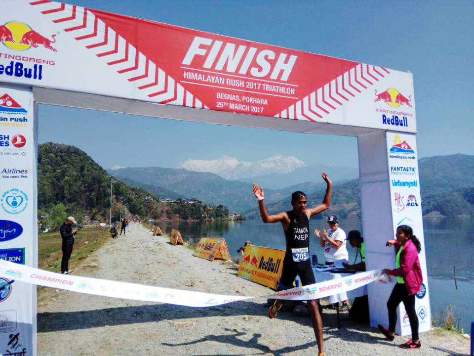 Himalayan Rush 2018 Annual Cross Triathlon: Only For The True Athletes