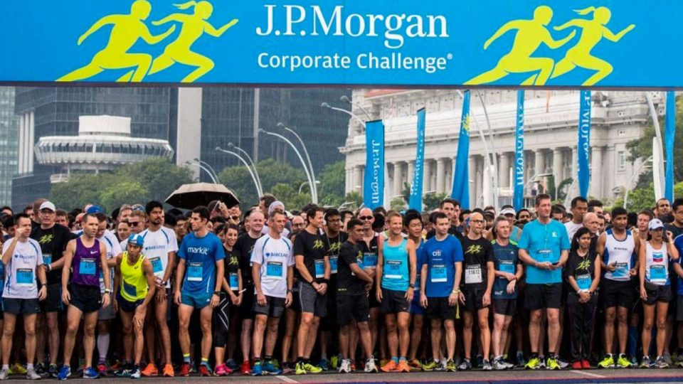 JP Morgan Corporate Challenge 2018