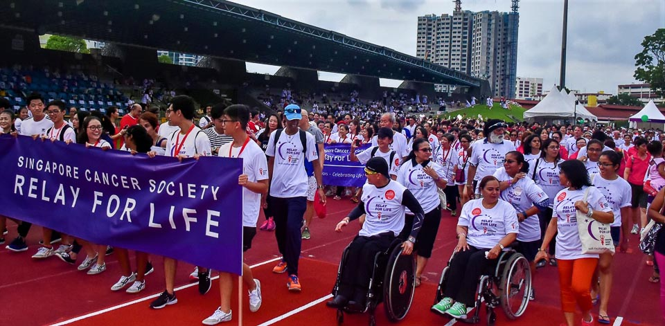 Make a Statement Against Cancer by Conquering 100KM at SCS-TalkMed Relay For Life 2018