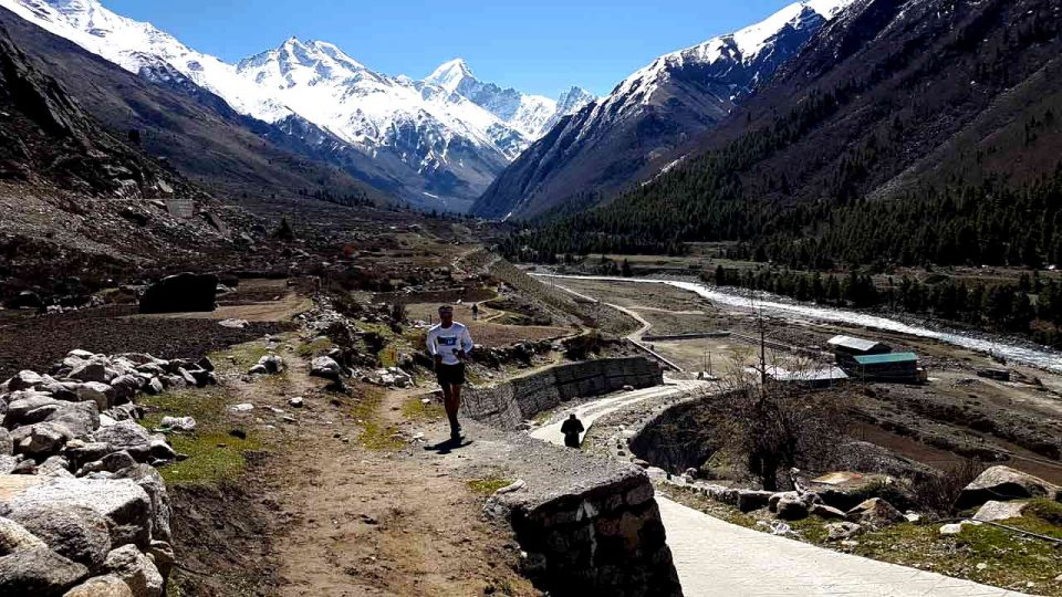 The 7th Himalayan Running and Living XC Marathon
