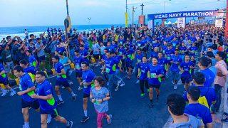 Vizag Navy Marathon 2018