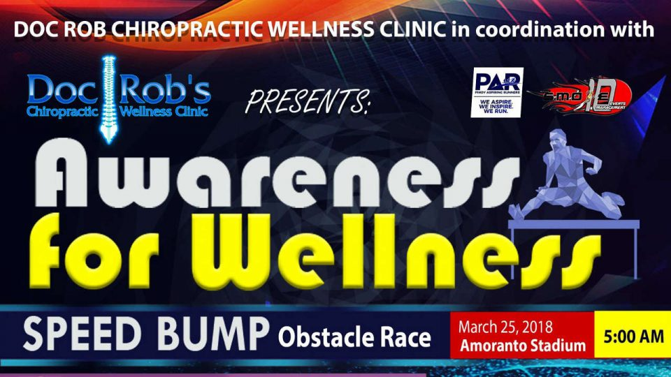Awareness For Wellness (Speed Bump Obstacle Race) 2018