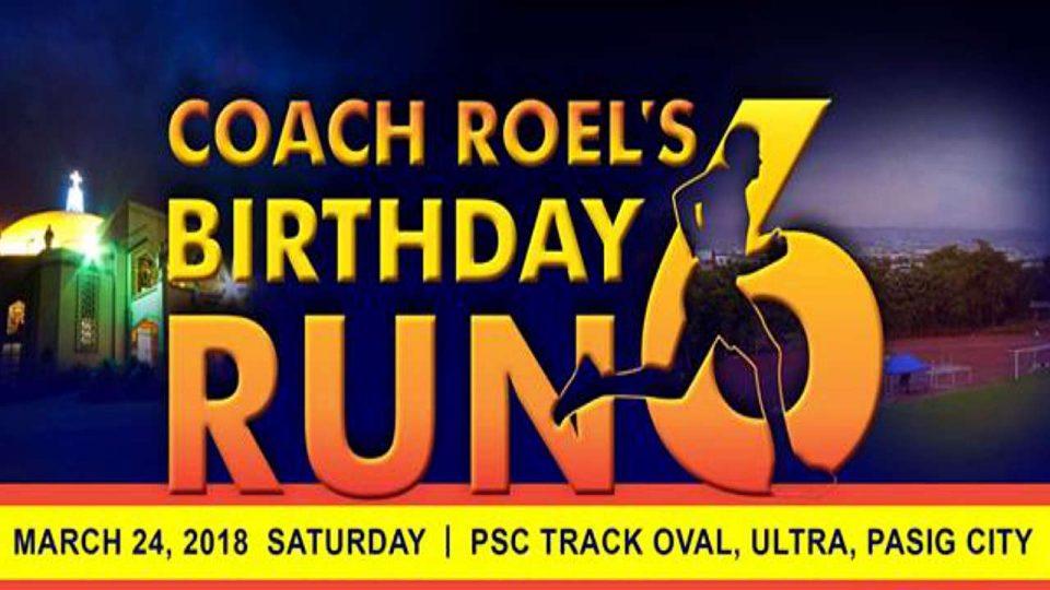 Coach Roel's Birthday Run 2018