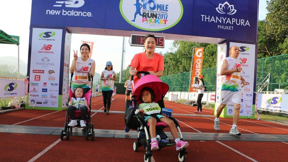 Fun Awaits Families at Supersports 10 Mile International Run 2018 Phuket Presented by Thanyapura