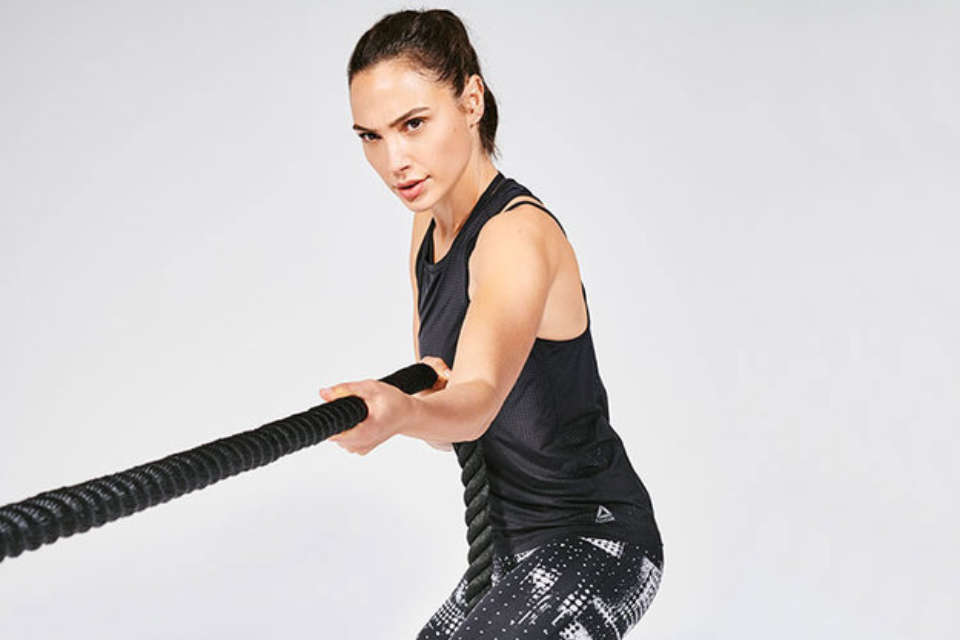 Gal Gadot and Reebok Unite