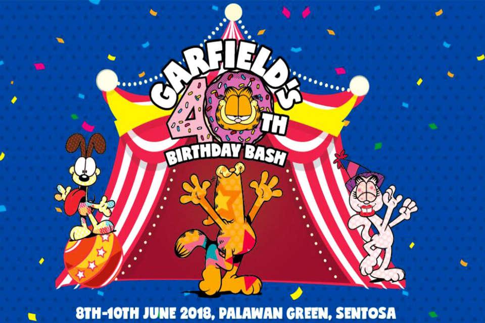 Garfield Carnival & Garfield Run Singapore 2018