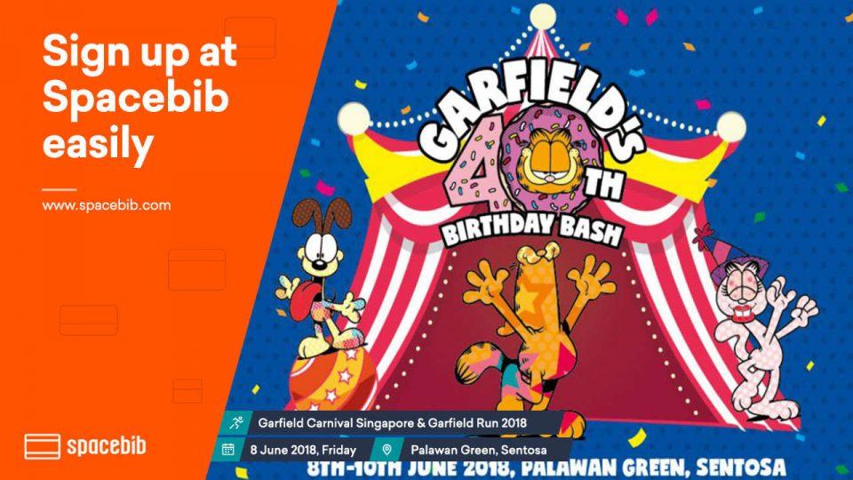 Garfields 40th Birthday Bash Run 2018