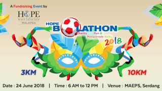 HOPE Bolathon Charity Fun Run & Masquerade Walk 2018