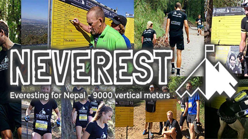 Kathmandu Neverest Challenge: Sydney 2018