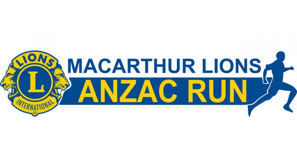Macarthur Lions Anzac Run 2018