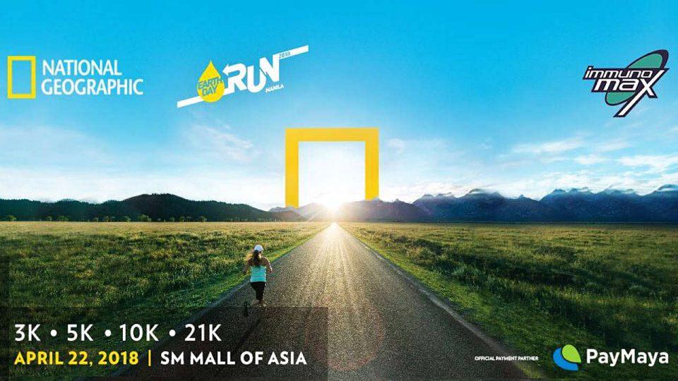 NatGeo Earth Day Run Manila 2018