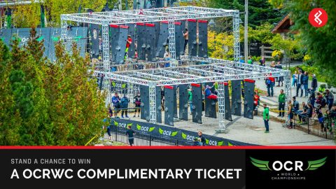 Win Obstacle Course Racing World Championships Team Entries Ticket