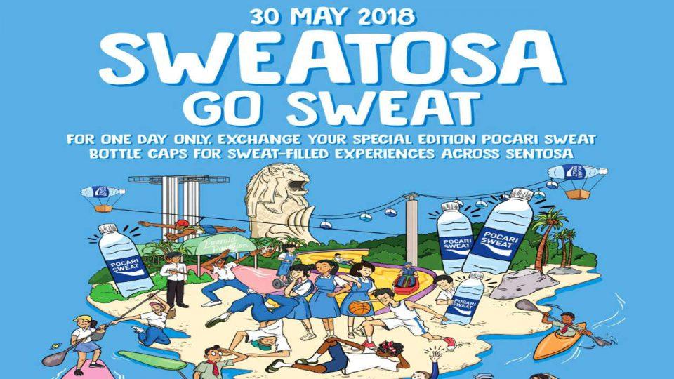 POCARI SWEAT - GO SWEAT at SWEATOSA 2018