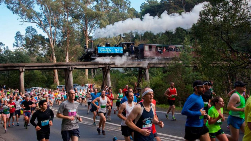 Puffing Billy's Great Train Race 2018