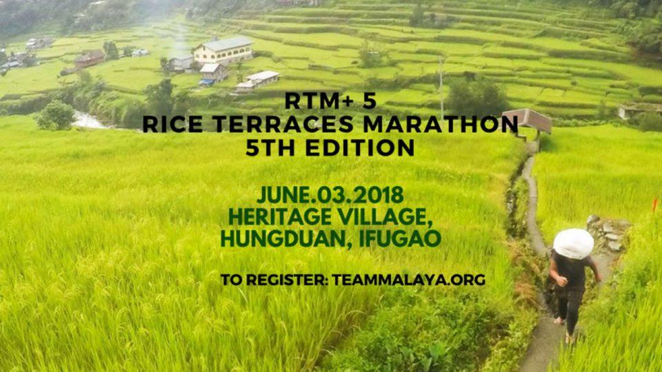Rice Terraces Marathon 2018