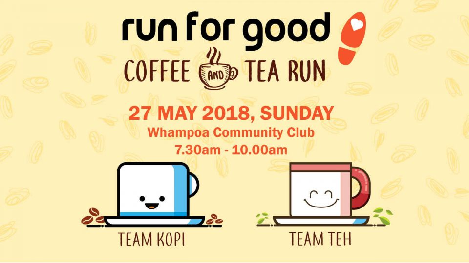 Run For Good - Coffee and Tea Run 2018