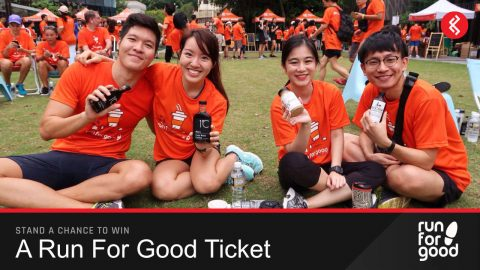 Win a Run For Good: Coffee & Tea Run Ticket