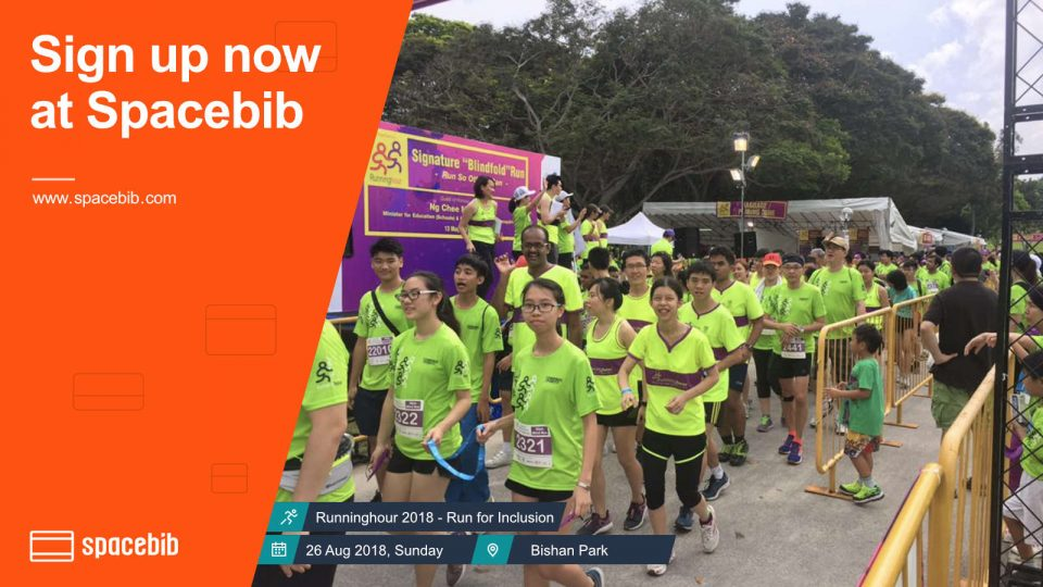 Runninghour 2018 - Run for Inclusion