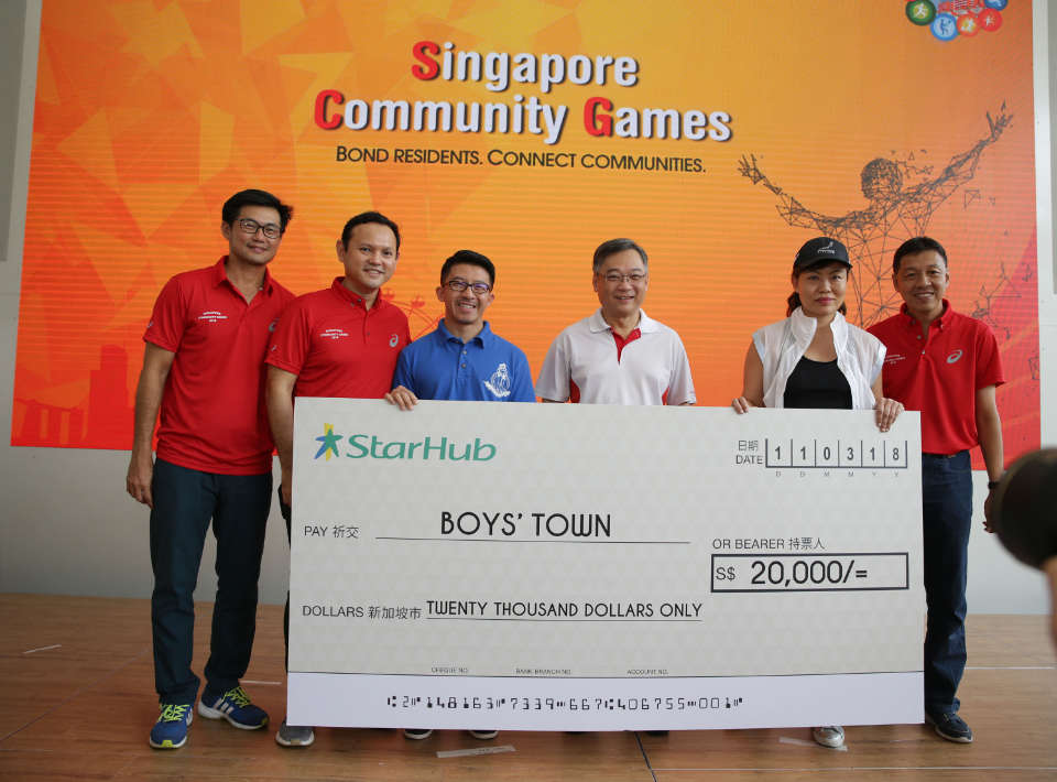 The Sixth Edition of Singapore Community Games Kicks Off Today