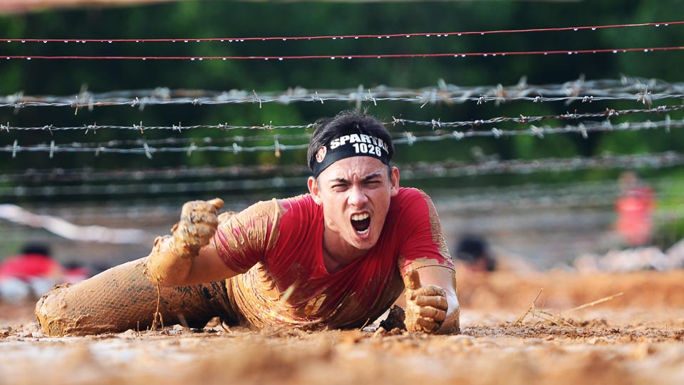 Spartan Up for the Semenyih Sprint this 15 April 2018!