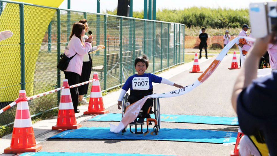 Tohoku Miyagi Revive Marathon 2018 (Family run, Wheel chair run)