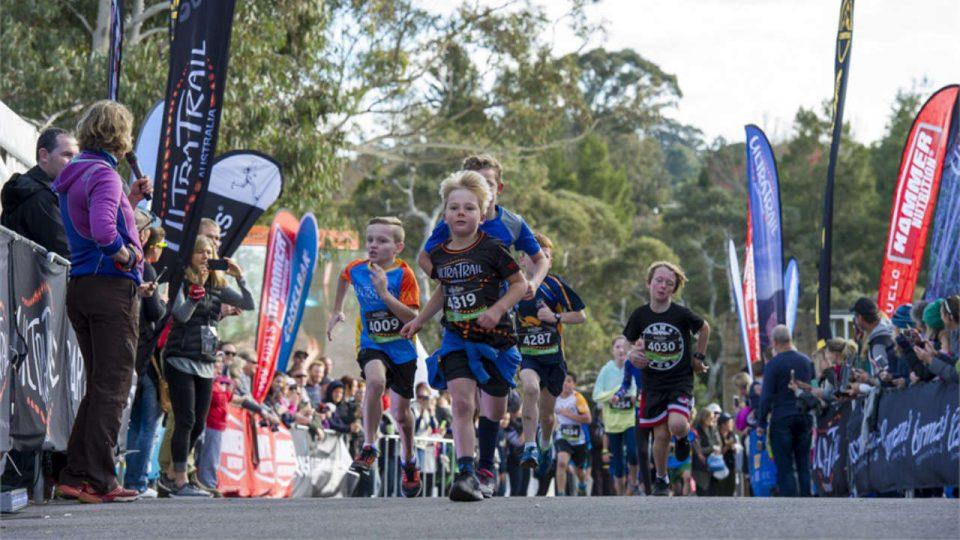 Ultra Trail Australia: Injinji Kids Run 2018