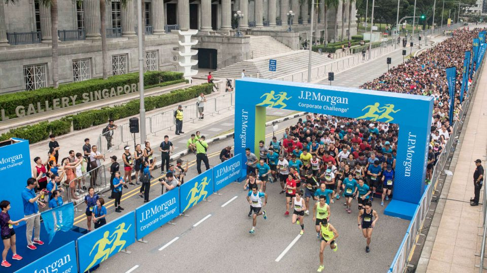 14,256 Runners Participated In The J.P. Morgan Corporate Challenge Singapore 15th Edition