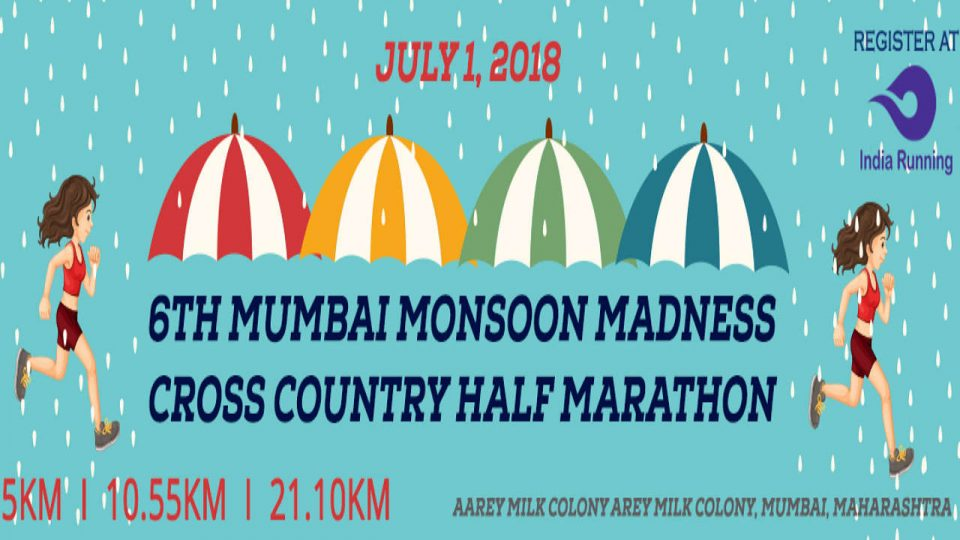 6th Mumbai Monsoon Madness Cross Country Half Marathon 2018