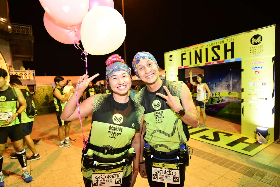 Bangkok Midnight Marathon 2018: The Shirts are Hot; the Weather's Not!