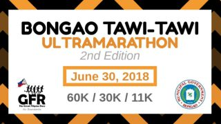 Bongao Tawi-Tawi Ultramarathon 2nd Edition 2018