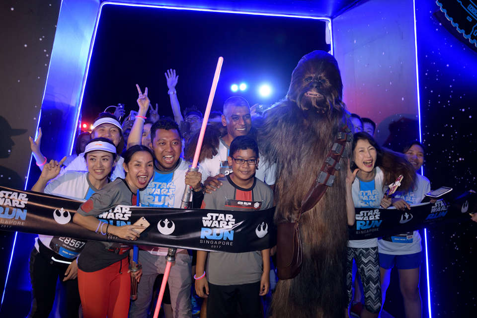Celebrate the BEST of STAR WARS at STAR WARS RUN Singapore 2018!