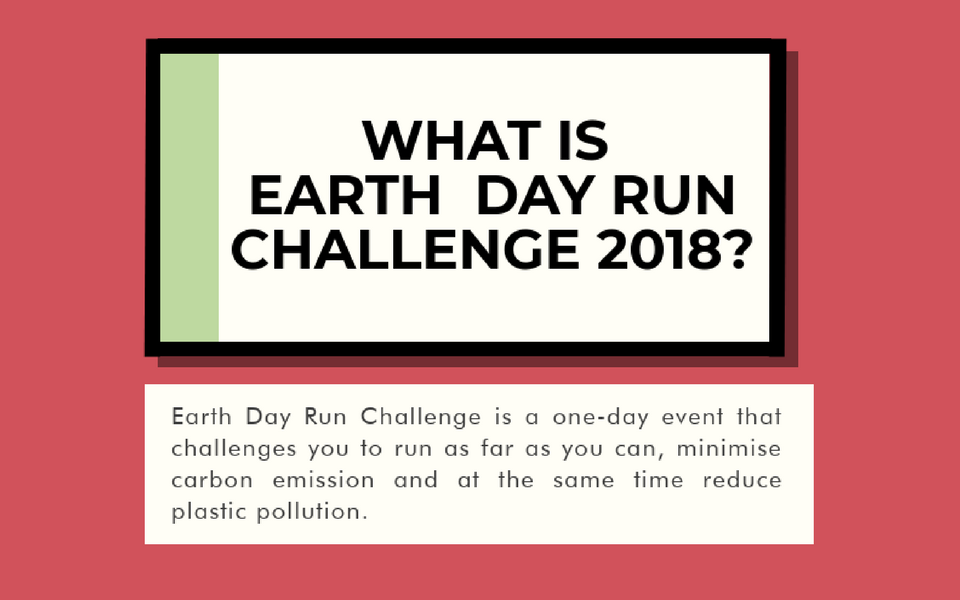 Do You Care About Mother Nature? Prove it at Earth Day Run Challenge 2018!