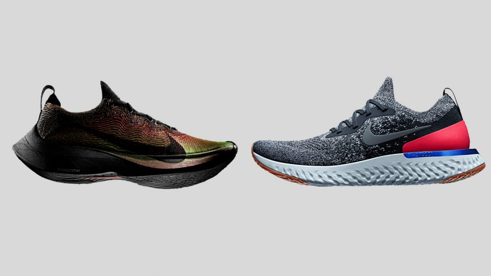 new styles faa02 fd728 First 3D Printed Textile and New Colourways  Nike Flyprint   Nike Epic  React Flyknit