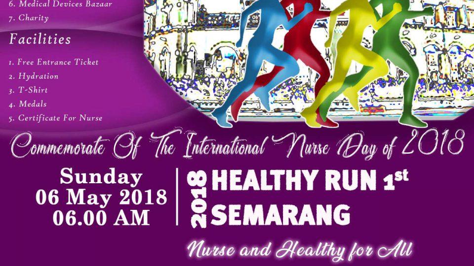 Healthy Run 1st 2018 Semarang