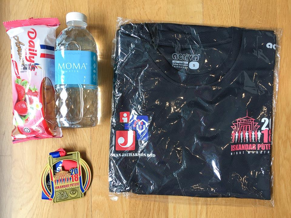 Iskandar Puteri Night Marathon 2018 Race Review: A Hard Battle