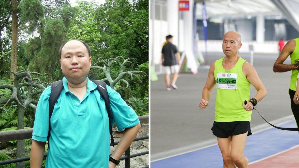 Kartono Wihardja Lost Almost Half of His Body Weight Through Running