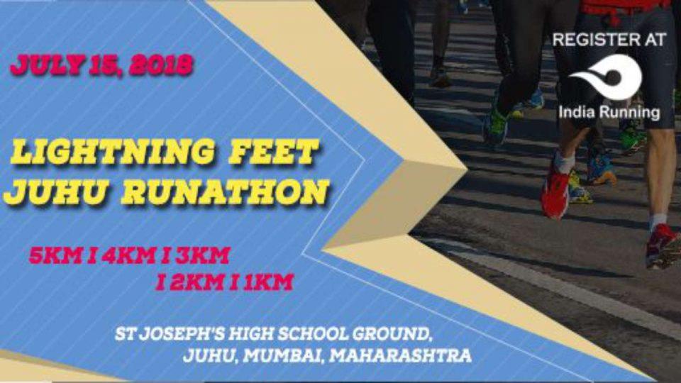 Lightning Feet Juhu Runathon 2018