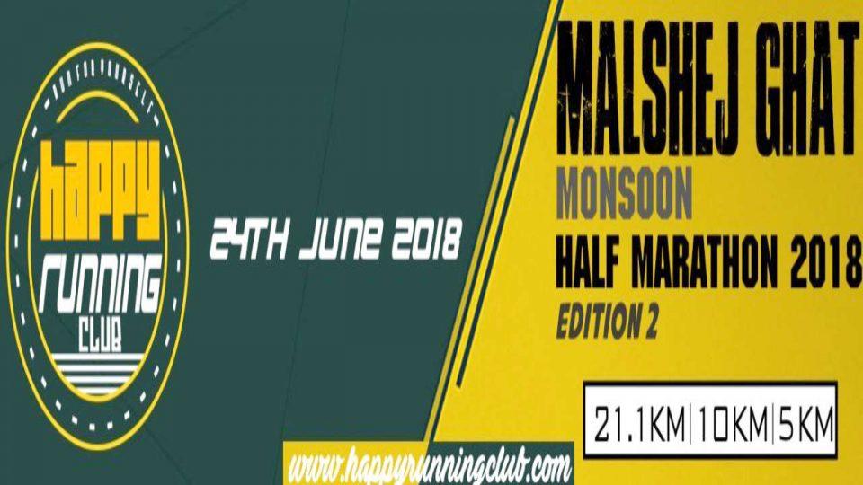 Malshej Ghat Monsoon Half Marathon 2018