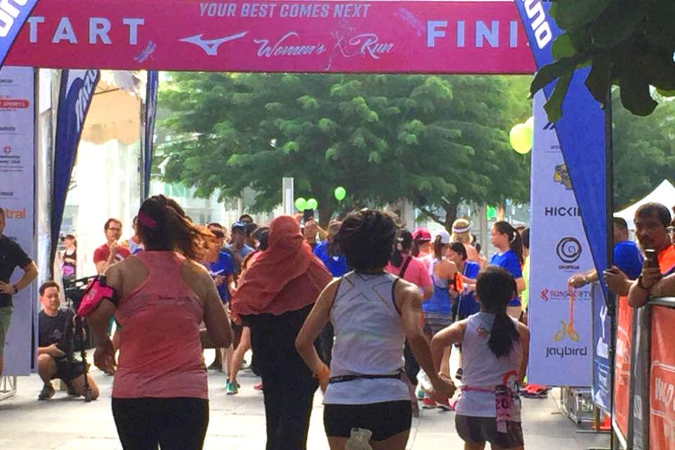 Mizuno Women's Run 2018 Race Review: My First Running Event Experience
