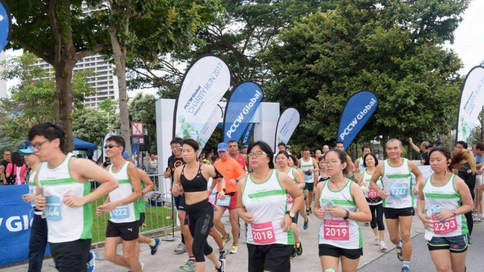 PCCW Global Charity Run 2018 Singapore