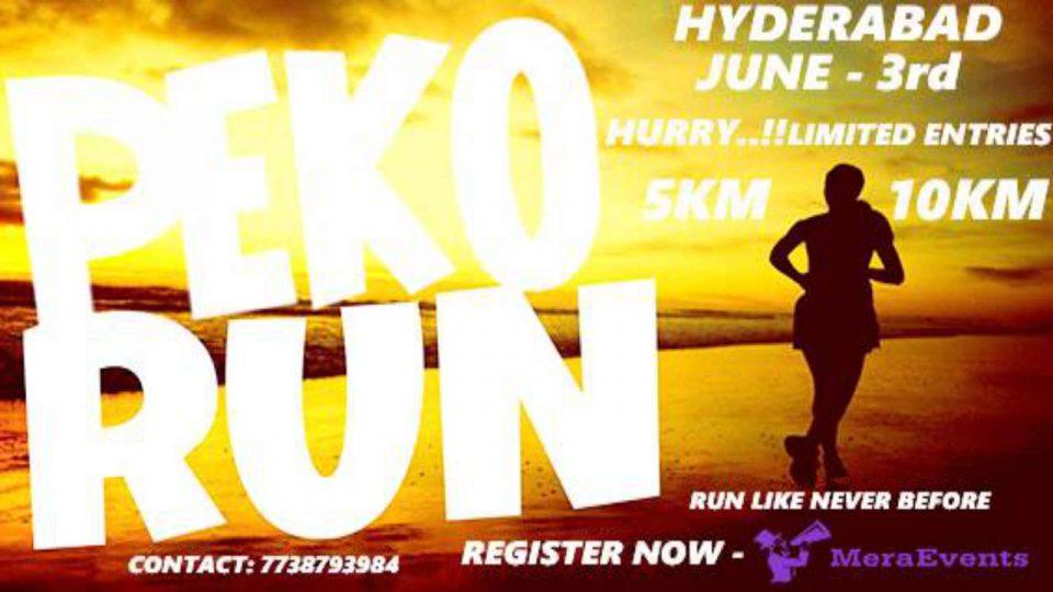 Peko Run India – Hyderabad 2018