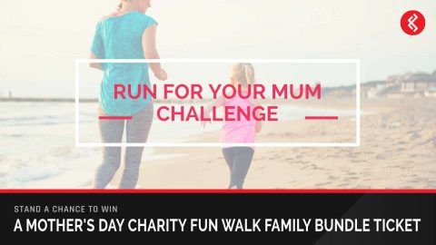 Win a Family Bundle Mother's Day Charity Fun Walk