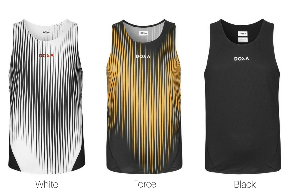The New DOXA Running Apparel Collection: Power Generation