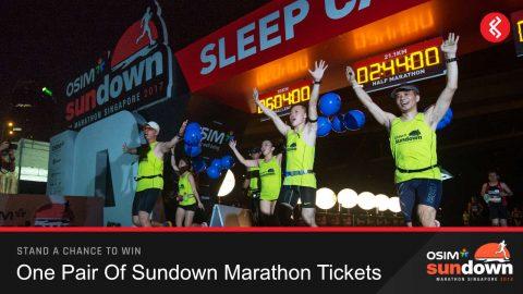 Win a Pair of Sundown Marathon Tickets