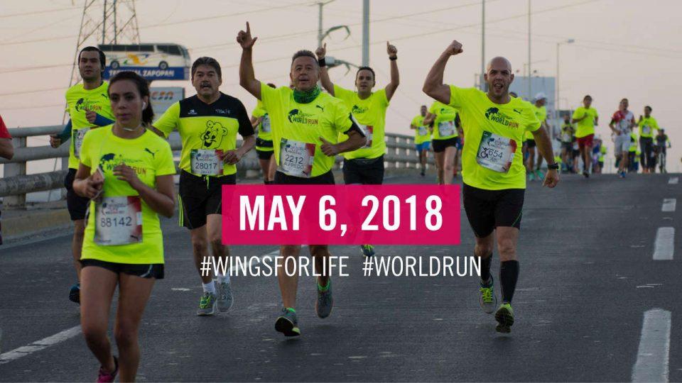 Wings for Life World Run - Singapore App Run 2018